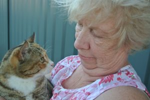 Beverley and Winnie are supported by Pets for Life