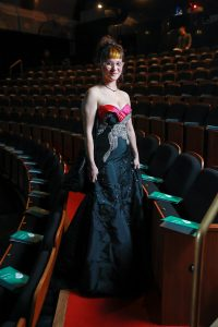 Award winner Autumn Skuthorpe attending the 2020 Australia Council for the Arts awards event.